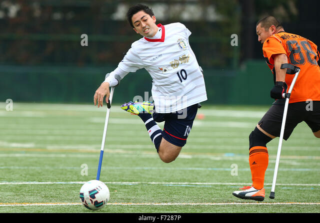 Fujitsu Stadium Kawasaki, Kanagawa, Japan. 23rd Nov, 2015. Henrique Matsumora Dias, NOVEMBER 23, 2015 - Amputee - Stock Image