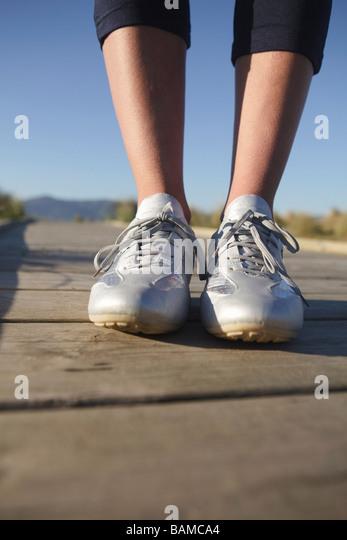 Feet on the ground - Stock Image