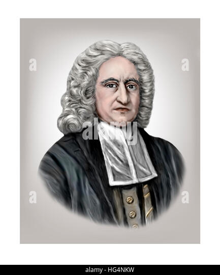 Edmond Halley, 1656-1742, Astronomer, Mathematician, Geophysicist, Meteorologist, Physicist - Stock Image