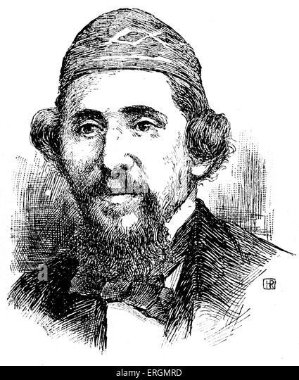 J.J. Benjamin II (1818-1864) - Romanian writer and traveler. Born Joseph Israel, Benjamin II named himself after - Stock Image