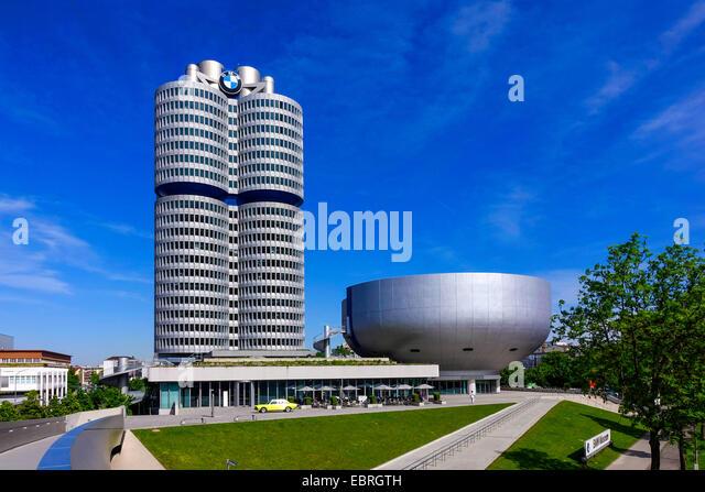 BMW Building Munich, Germany, Bavaria, Muenchen - Stock-Bilder