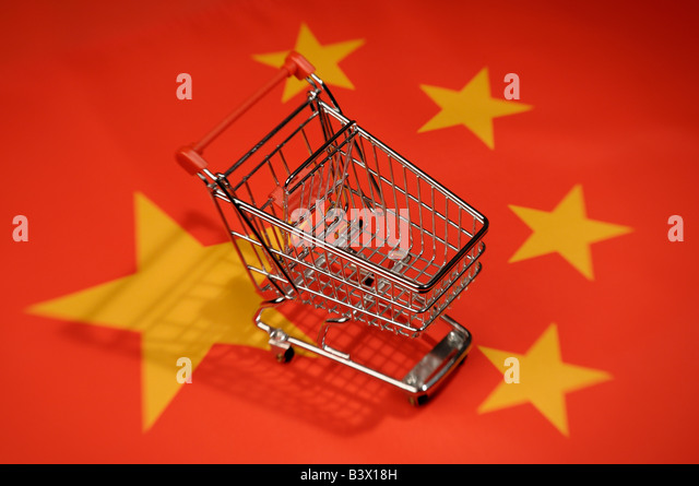 China shopping - Stock Image