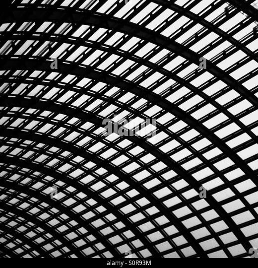Curving canopy - Stock-Bilder