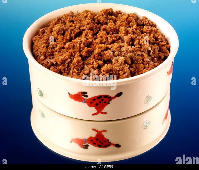 DOG FOOD - Stock Image