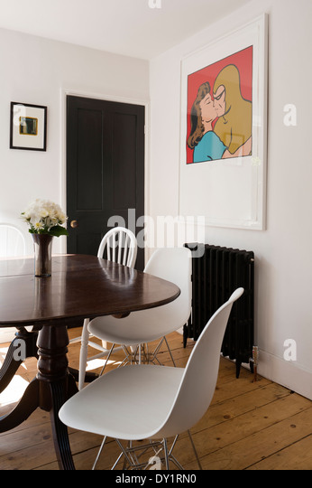 eames house interior stock photos eames house interior stock images alamy. Black Bedroom Furniture Sets. Home Design Ideas