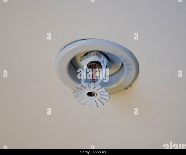 Fire sprinkler stock photos images