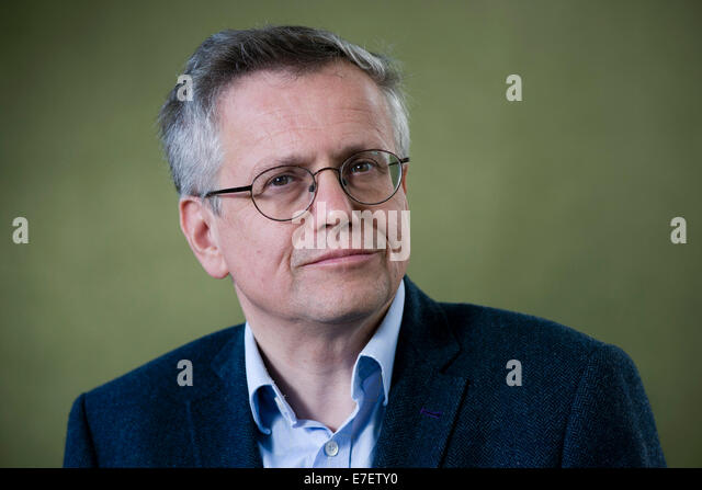 Scottish cultural historian, Bradley Professor of Literature Murray Pittock FRSE at the Edinburgh Book Festival. - Stock Image