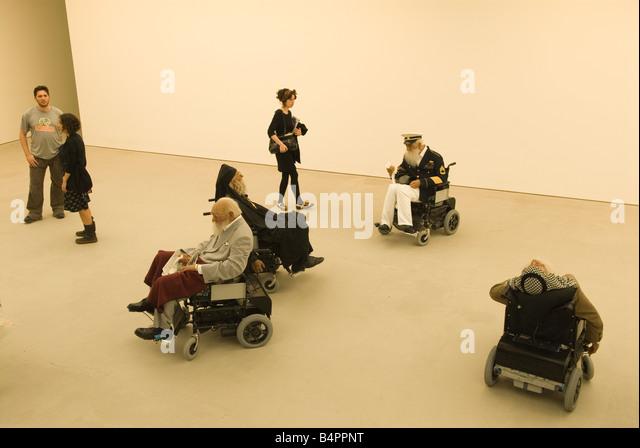 The Saatchi new Art Gallery The Duke of York Headquarters Chelsea London UK 2008 - Stock Image