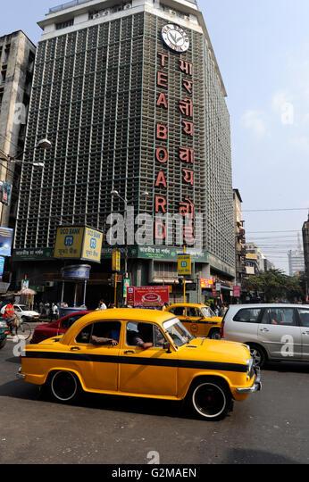INDIA Westbengal, Kolkata, Tea Board, where Darjeeling and Assam tea is traded / INDIEN, Westbengalen, Kolkata, - Stock-Bilder