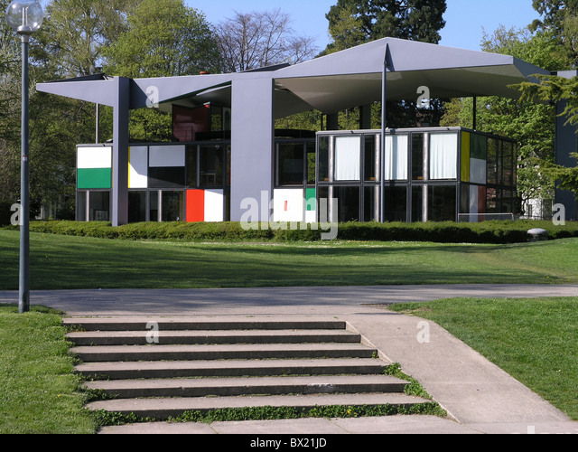 Le corbusier house stock photos le corbusier house stock for Modern house zurich