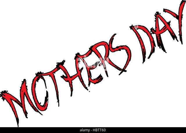 Mothers Day sign - Stock Image