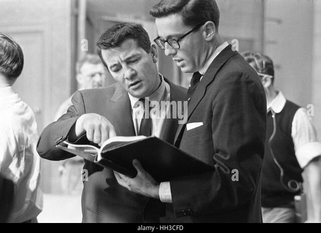 Rocky Graziano with Thomas B. Morgan - Stock Image