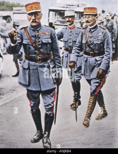 Foch 1851 1929 - Stock Image