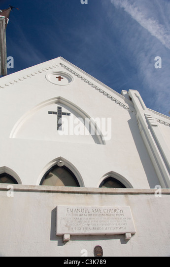 South Carolina, Charleston. Emanuel AME Church, founded in 1818. - Stock Image