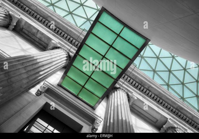 British Museum, London - Stock Image