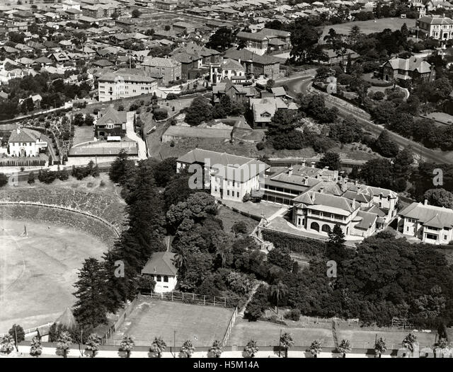 Cranbrook School Rose Bay c 1937 - Stock Image