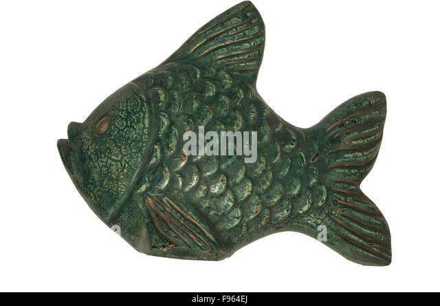 Ceramic fish sculpture stock photos ceramic fish for Ceramic fish sculpture