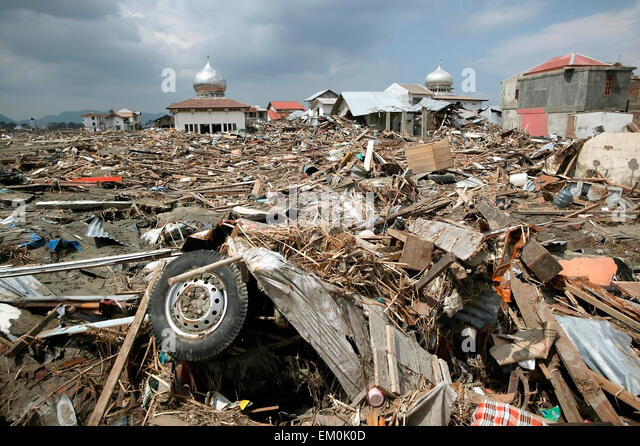 Tsunami devastates Indian Ocean coast