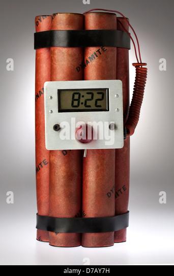 Dynamite Bomb - Stock Image