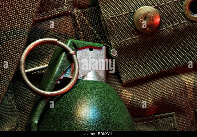 Hand-grenade - Stock Image