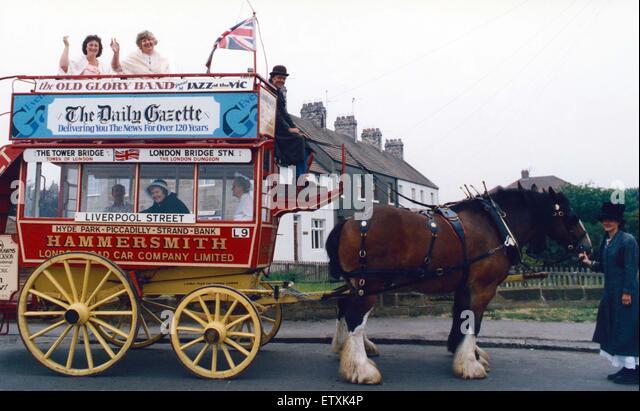 Saltburn Victorian Week. 1st September 1991. - Stock Image