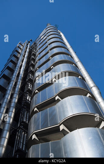 The Lloyds Building in London, England, UK - Stock Image
