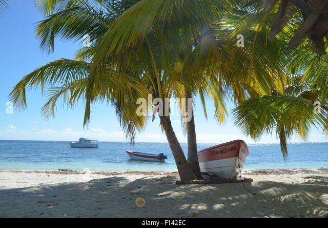 Saona Island Dominican Republic - Stock Image