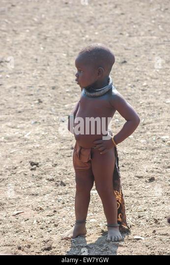 'child' 'children' 'kid' 'kids' 'Africa' 'Namibia' 'himba' - Stock-Bilder
