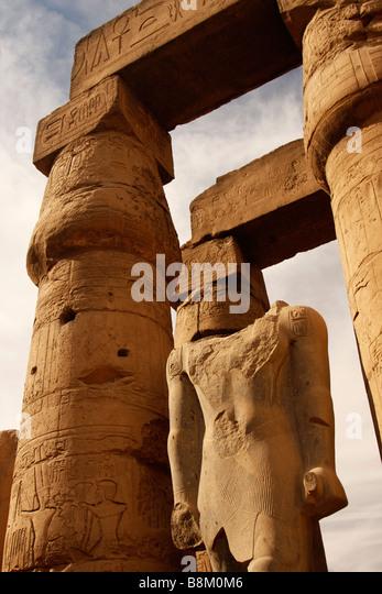Huge stone pillars stock photos