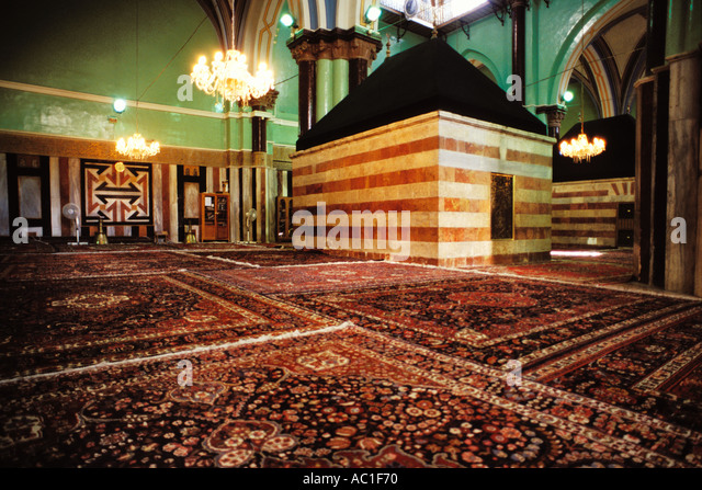 Palestine, West Bank, Hebron, Cenotaph of Rebekah, Ibrahimi Mosque - Stock Image