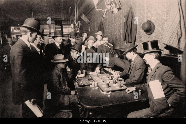 Farobank in the late 1800s - Stock-Bilder