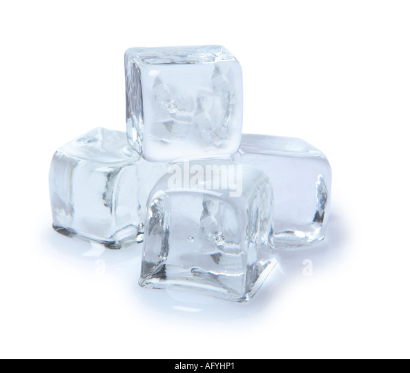 Ice Cubes - Stock Image