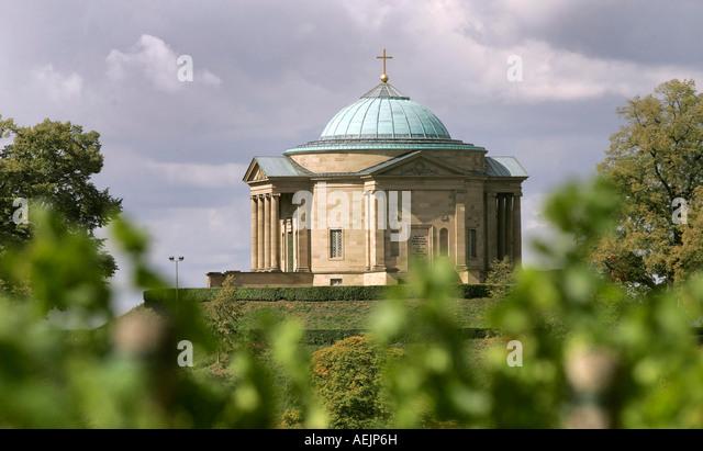Chapel Stuttgart Rotenberg. Build in 1821 for Katharina, Stuttgart, Baden-Württemberg, Germany - Stock-Bilder