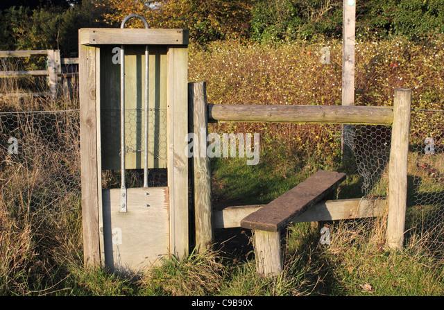 Surrey Countryside Gate Stock Photos Amp Surrey Countryside