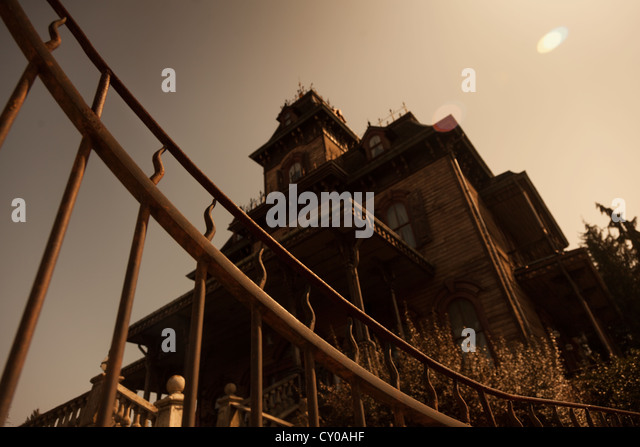 Haunted house - Stock Image