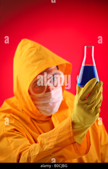 Lab scientist - Stock Image