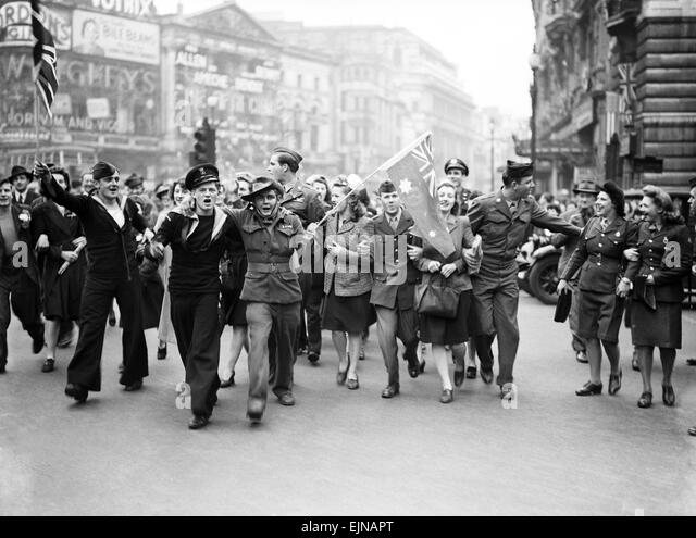 End of wwii date in Perth