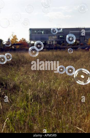 Soap bubbles - Stock-Bilder