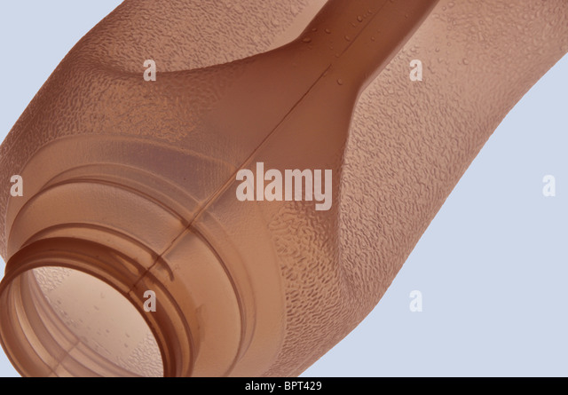 Close up detail of a food containers - Stock Image
