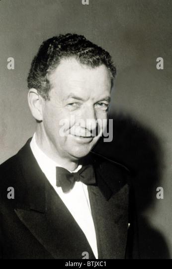 Benjamin Britten, British Composer. - Stock Image