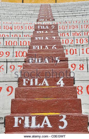 arena Plaza de Toros Quito Ecuador South America - Stock Image