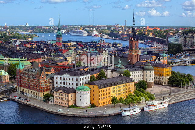 Stockholm City - Stock Image