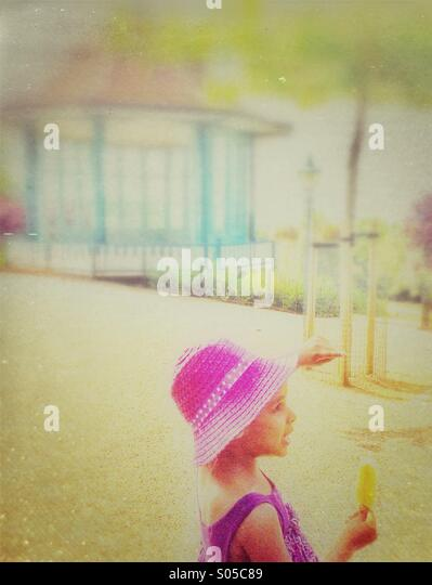 Child with lolly - Stock-Bilder