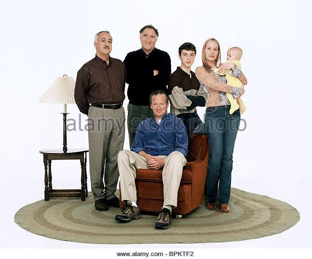 BRIAN GEORGE JUDD HIRSCH DANIEL STERN JOHN FRANCIS DALEY & KELLY KARBACZ REGULAR JOE (2003) - Stock Image