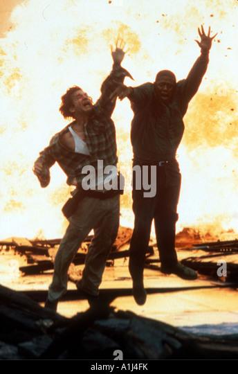 Blown Away Year 1994 Director Stephen Hopkins Jeff Bridges Forest Whitaker - Stock Image