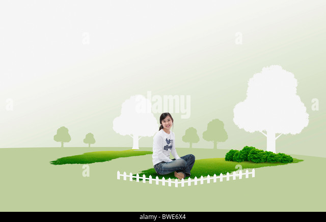 hopeful eco friendly - Stock Image