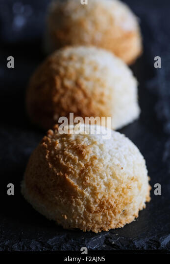 Congolais Coconut Macaroons - Stock Image