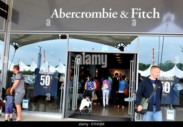 Entry of abercrombie and fitch in