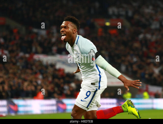 London, UK. 11th November, 2016. England v Scotland - FIFA World Cup 2018 Qualifier . London, UK . 11.11.2016 Daniel - Stock Image