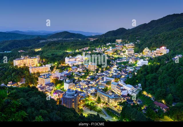Arima Onsen, Kobe, Japan hot springs resort town. - Stock Image